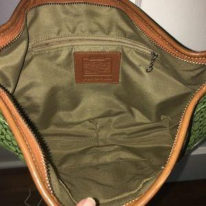 Coach Bags - Bright green Coach purse